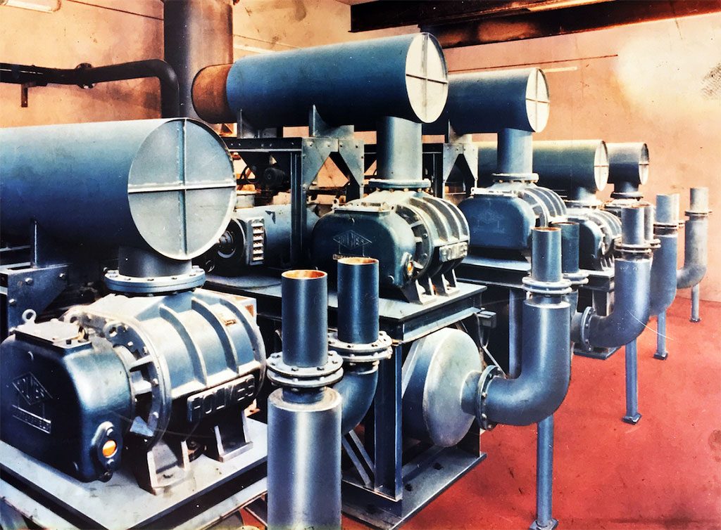 Historical Blower Arrangement