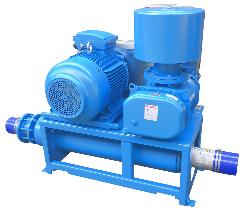 Standard blower packages - HR Blowers - Positive Displacement Blowers